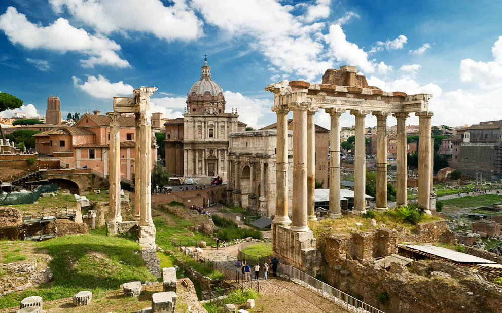the ancient rome architecture