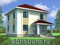 Квадратные дома на сайте www.abrisburo.ru