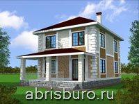 Узкие проекты домов на сайте www.abrisburo.ru