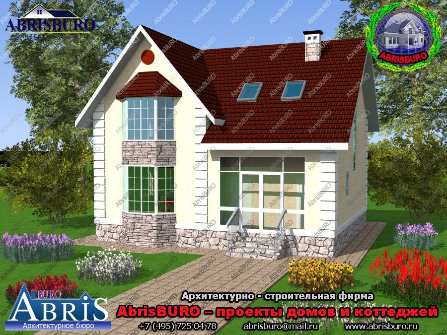 Проект дома в скандинавском стиле K1107-147