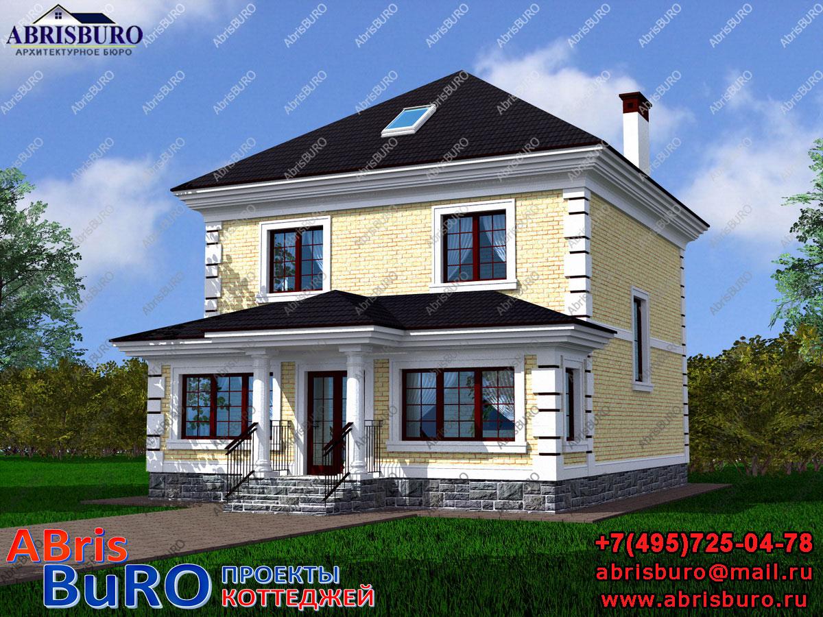Проект дома с мастерской K1111-126
