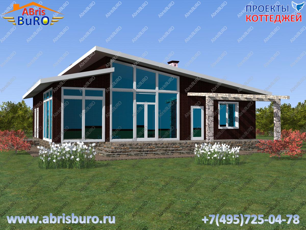 Проект современного дома K1127-133