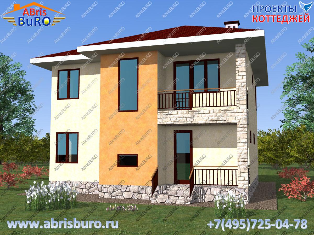Проект современного дома K1136-146