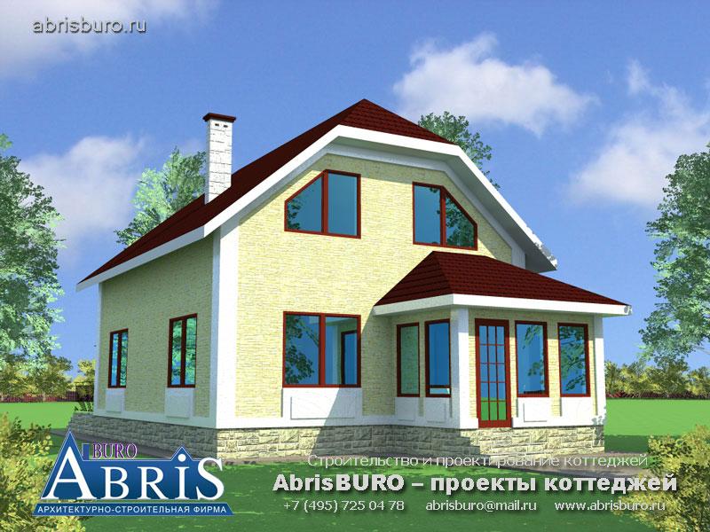 Проект дома с мастерской K139-115
