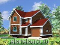 Проекты коттеджей на сайте www.abrisburo.ru