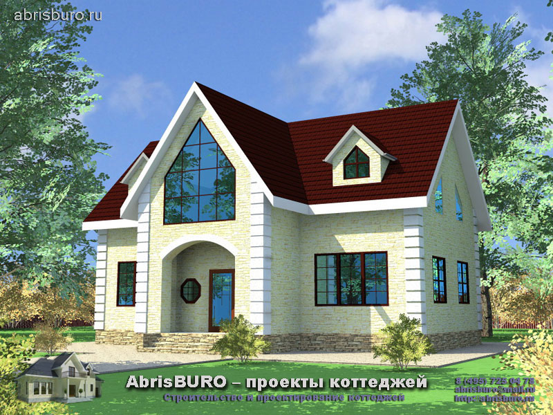 Проект дома в скандинавском стиле K112-148