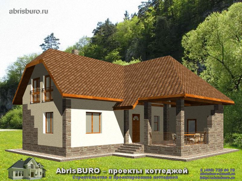 Проект дома с баней K12-130