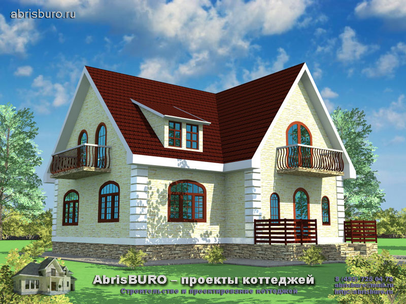 Проект дома в скандинавском стиле K121-148