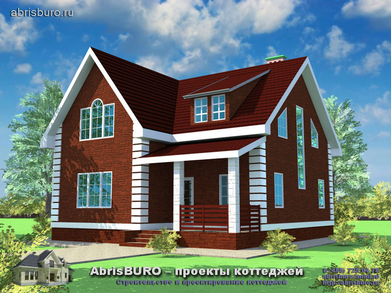 Проект дома в скандинавском стиле K124-145