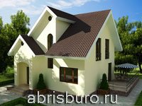 Мансардные коттеджи на сайте www.abrisburo.ru