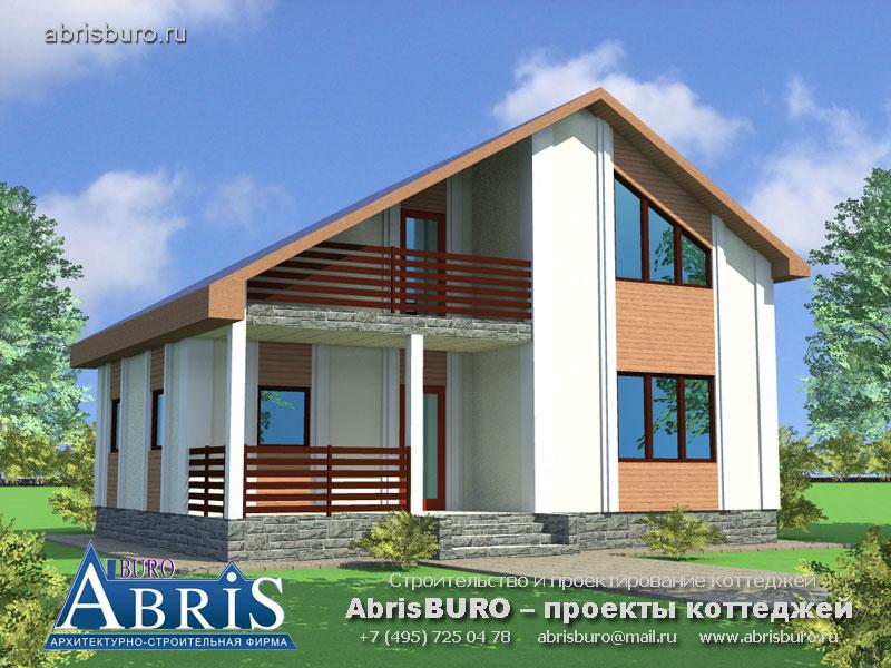 Проект дома с баней K054-100