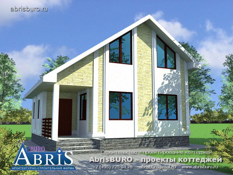 Проект дома с баней K055-100