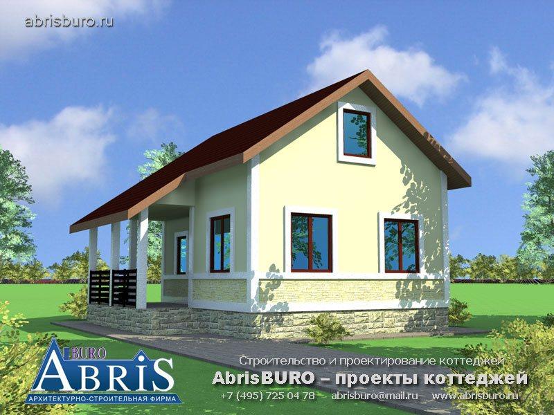 Проект дома с баней K056-63
