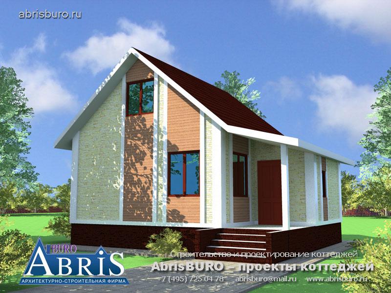 Проект дома с баней K059-53