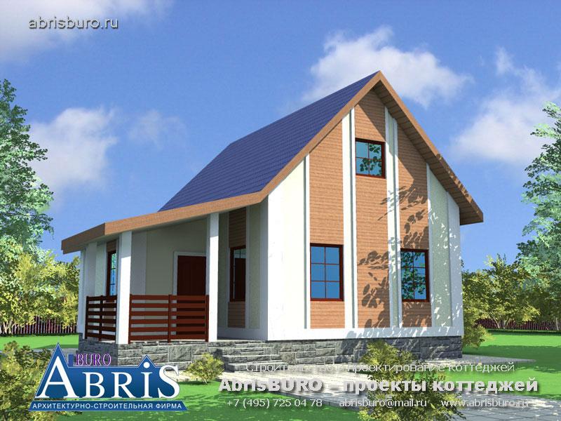 Проект дома с баней K060-80