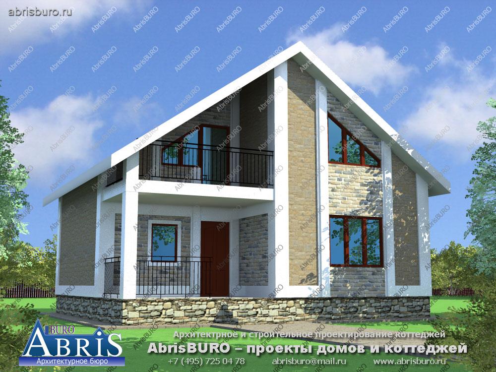 Проект дома с баней K072-89