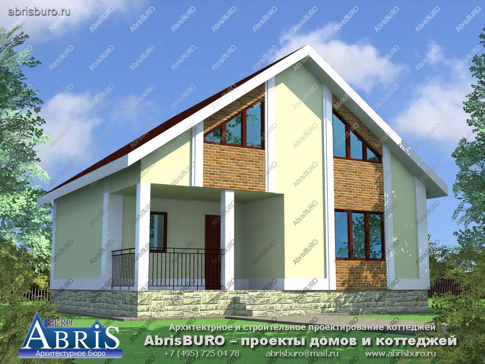 Проект дома с баней K073-95