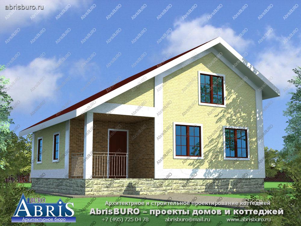 Проект дома с баней K074-92