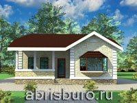 Одноэтажные коттеджи на сайте www.abrisburo.ru