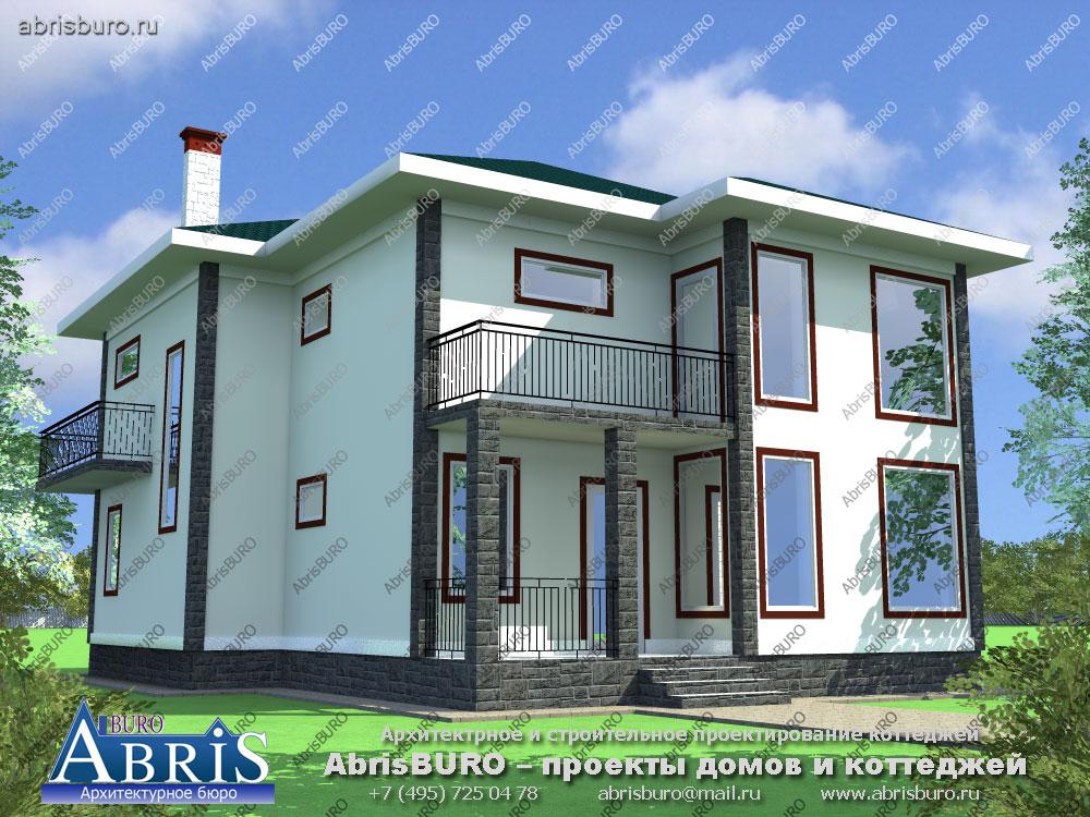 Проект современного дома K1506-180