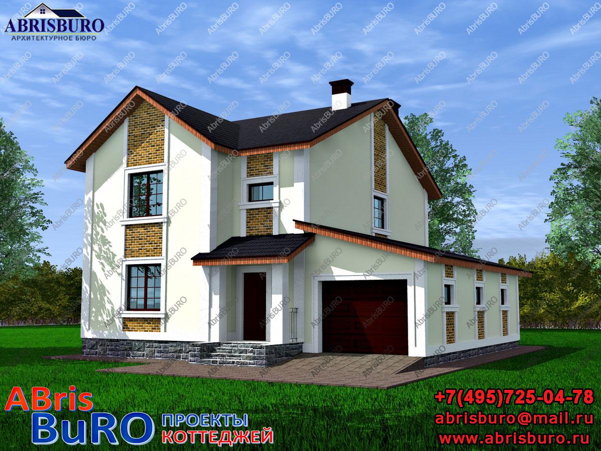 Проект дома с крыльцом K1621-153
