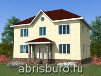 Проект двухэтажного дома K1629-199