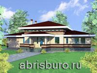 Проект коттеджа К153-180