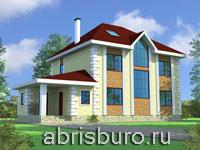 Трехэтажные коттеджи на сайте www.abrisburo.ru