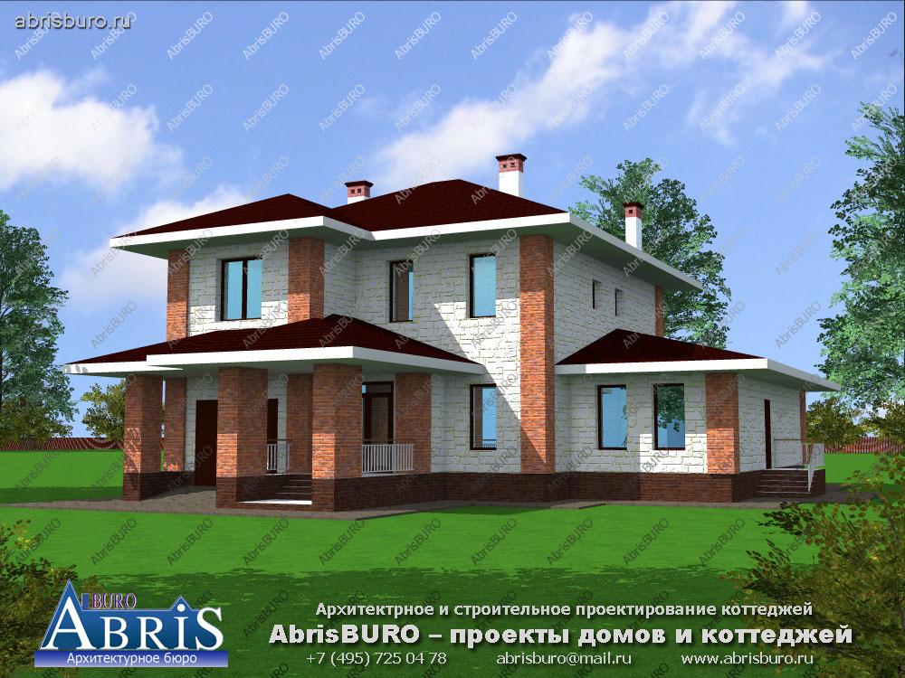 Проект современного дома K2036-230