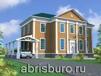 Проекты домов в английском стиле на сайте www.abrisburo.ru