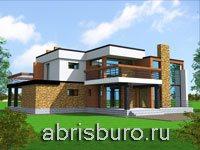 Коттеджи в стиле хай-тек на сайте www.abrisburo.ru
