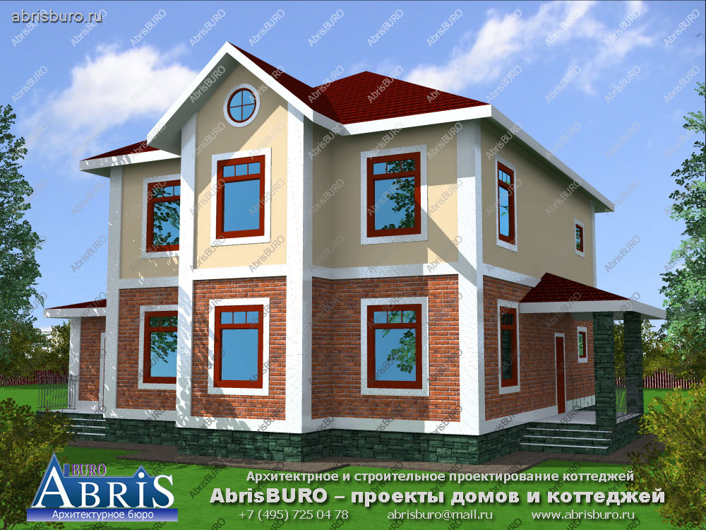 Проект дома с мастерской K2539-273