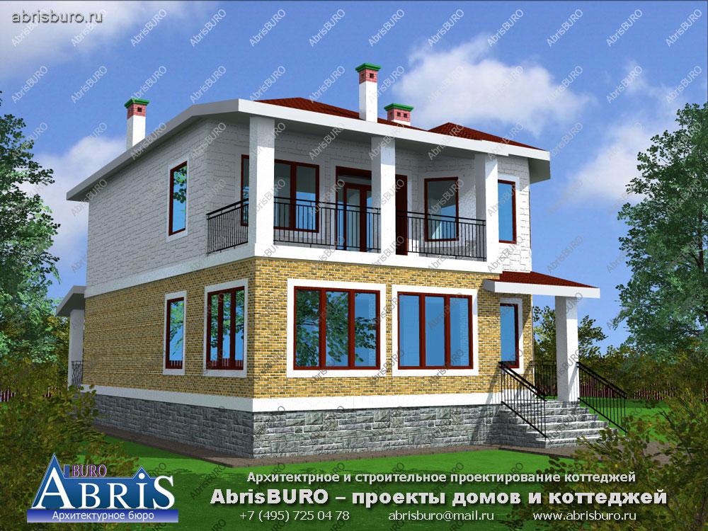Проект дома с мастерской K2540-294
