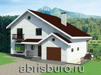 Проекты домов и коттеджей на склоне www.abrisburo.ru