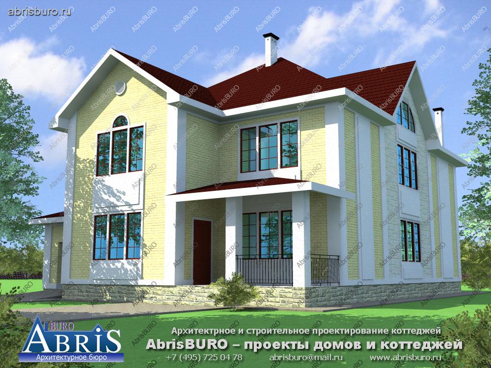 Проект дома с мастерской K3004-444