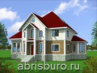 Дома с цокольным этажом. Коттеджи с подвалом на сайте www.abrisburo.ru