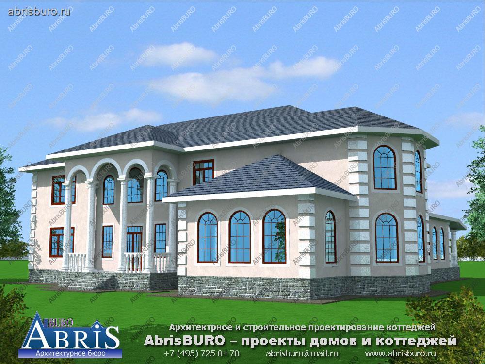Проект дома с мастерской K3036-1122