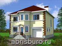 Дома с встроенным или пристроенным гаражом на сайте www.abrisburo.ru