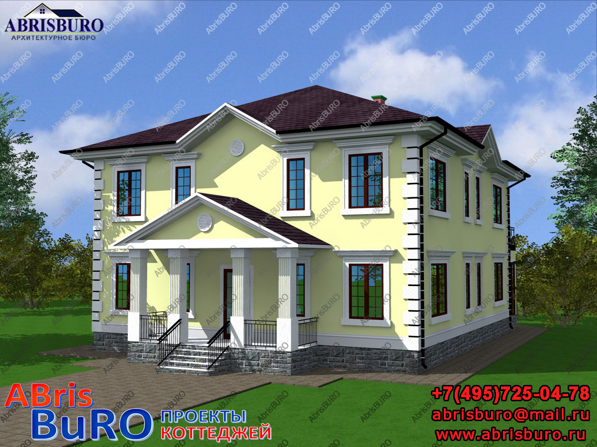 Проект дома с мастерской K3052-316