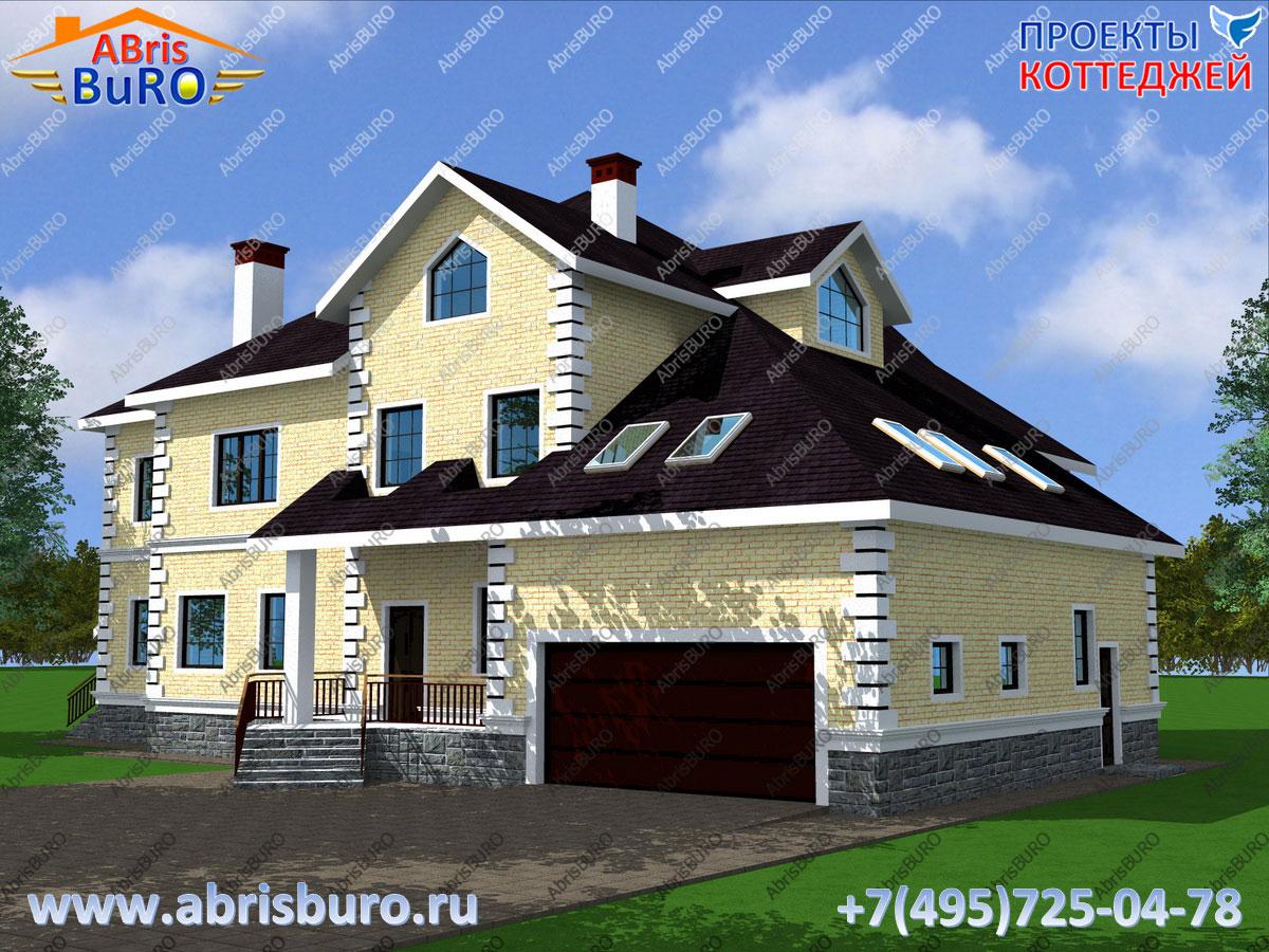 Проект дома с баней K3058-602
