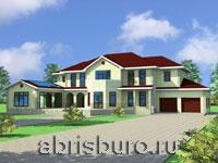 Проекты домов и коттеджей с бассейном на сайте www.abrisburo.ru