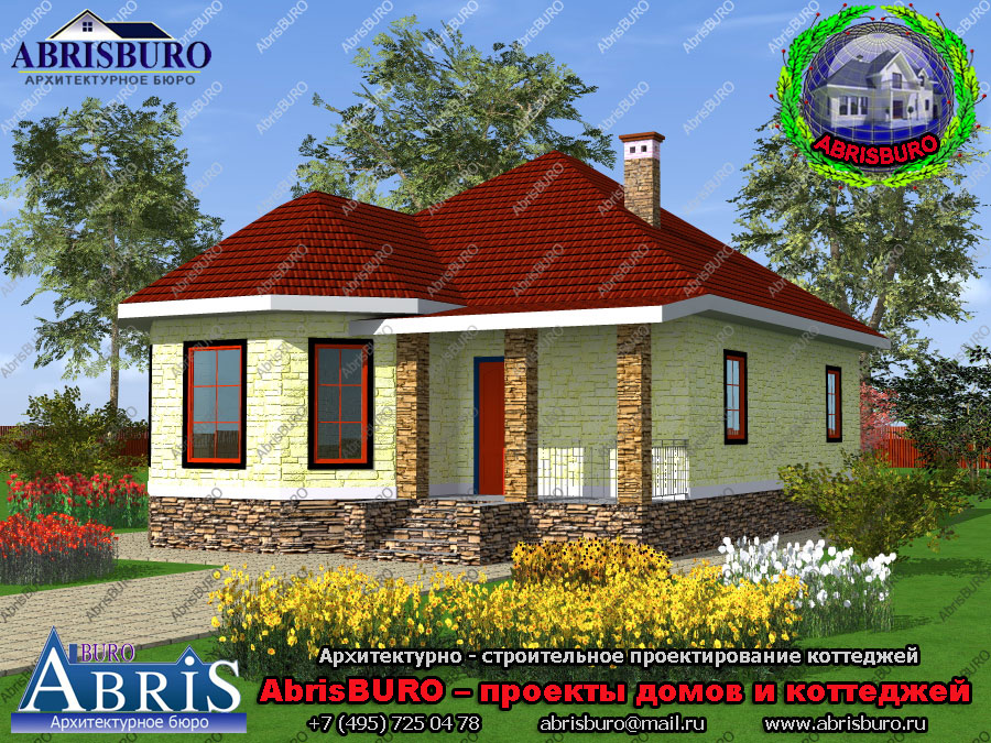 Проект дома К0104-98