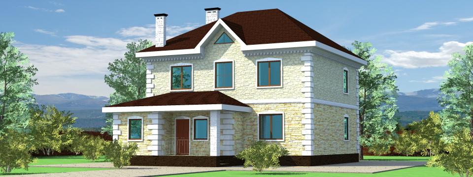 Картинки домов и коттеджей