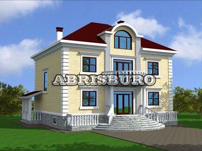 Новый проект одноэтажного коттеджа