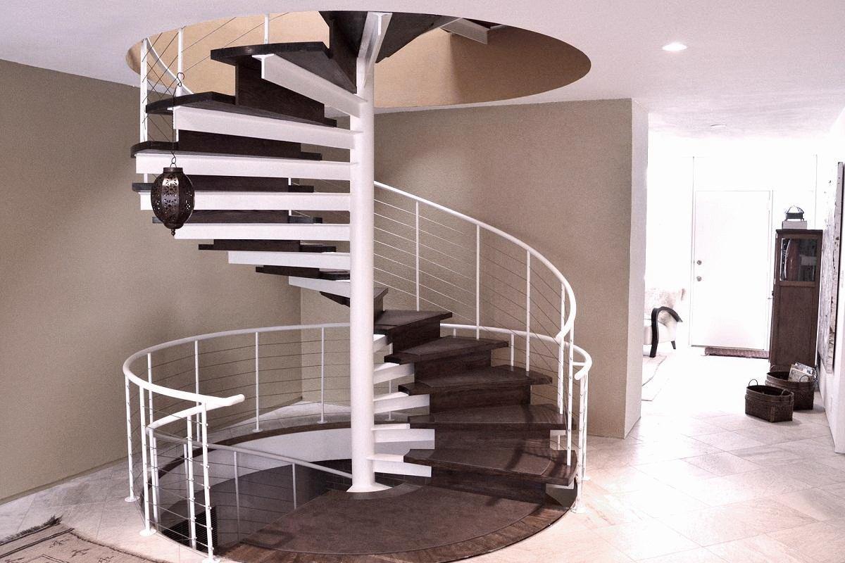 Винтовые или спиральные лестницы