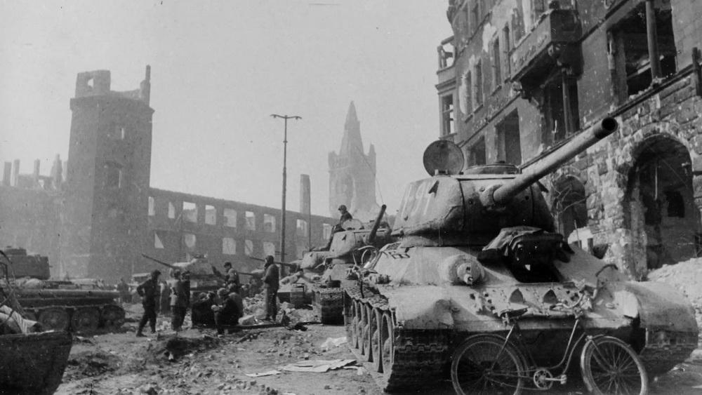 В годы Второй мировой войны