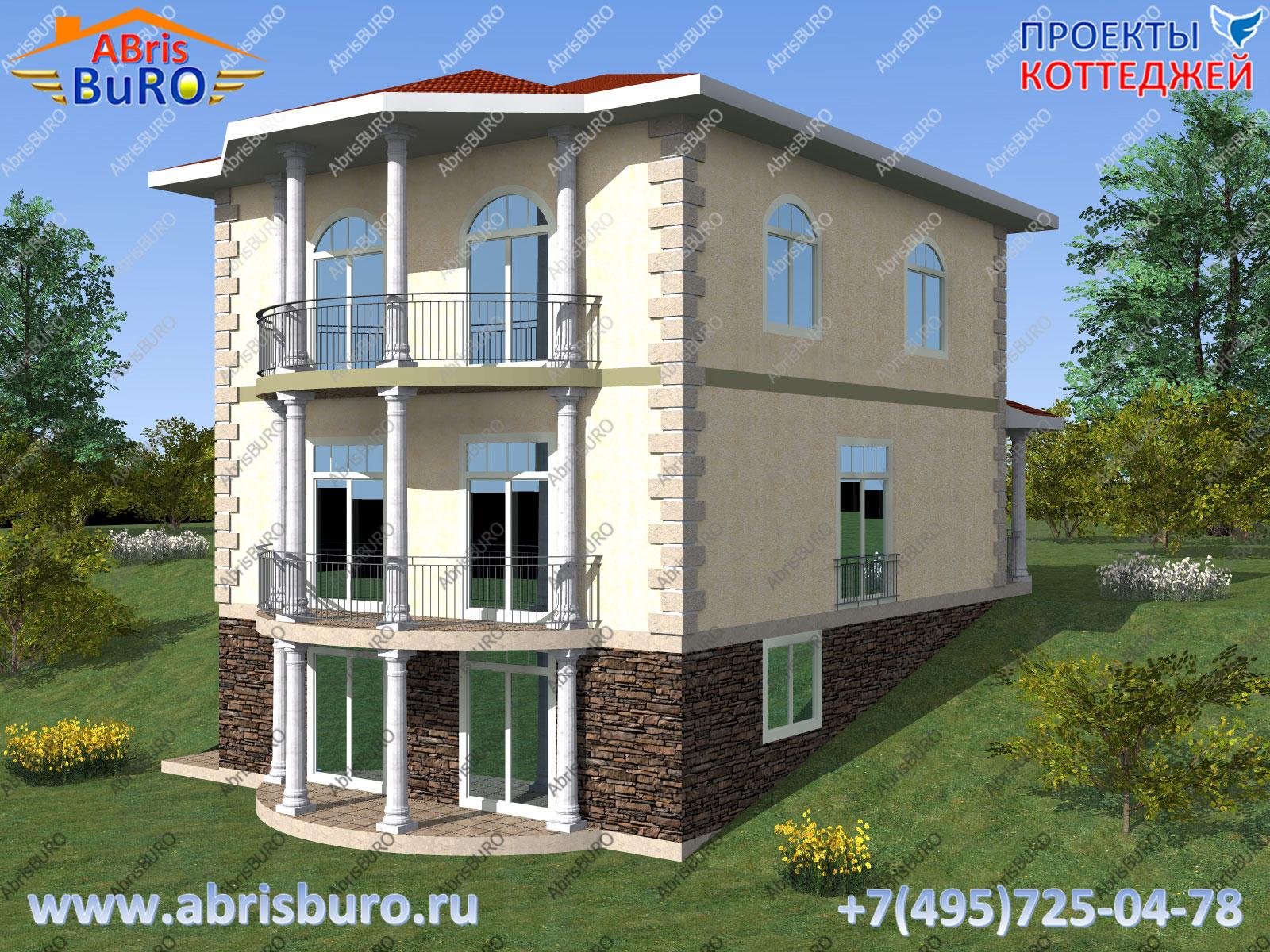 Главный фасад дома K2095-227