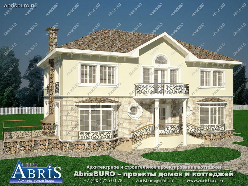 планы домов с фото домов